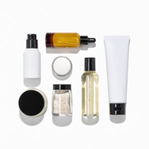 A variety of skin care products