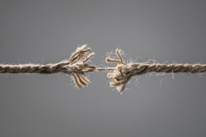 A Stressed Rope